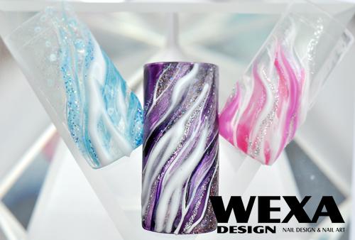 3D farebný uv gél na nechty WEXA